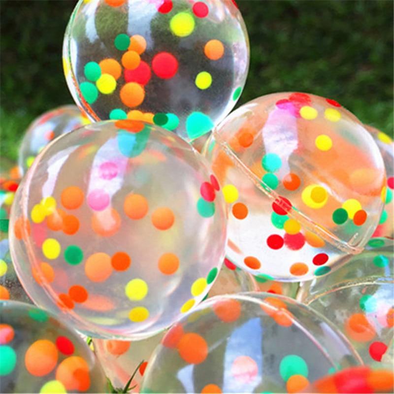 20pcs/30pcs/50pcs/80pcs/100pcs Funny Toy 32MM Bouncing Ball Child Rubber Ball Of Bouncy Toy
