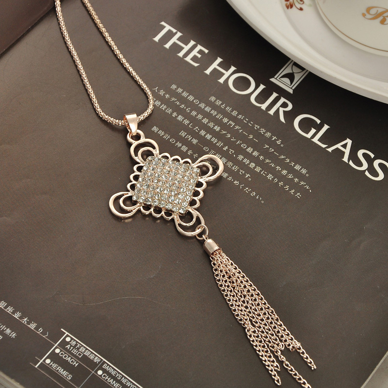 последняя леди мода ожерелье представляет китайский стиль с свитер шкентель бесплатная доставка-la003