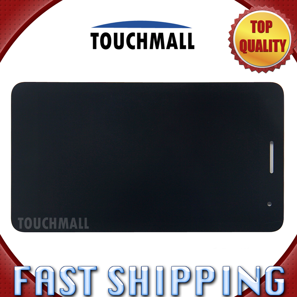 For New LCD Display Touch Screen Assembly Replacement Huawei Honor Play Mediapad T1-701 T1 701U T1-701U Black Free Shipping