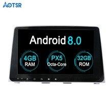 Aotsr Android 8,0 octa core 9 дюймов gps навигации DVD плеер автомобиля для hyundai Sonata 2018 2019 мультимедиа 1 din радио регистраторы