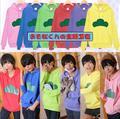 Historieta del anime del juguete Osomatsu-san Unisex hombres de las mujeres Top Camisas y Sudaderas de Primavera/Otoño 6 color suave de algodón regalo de colección