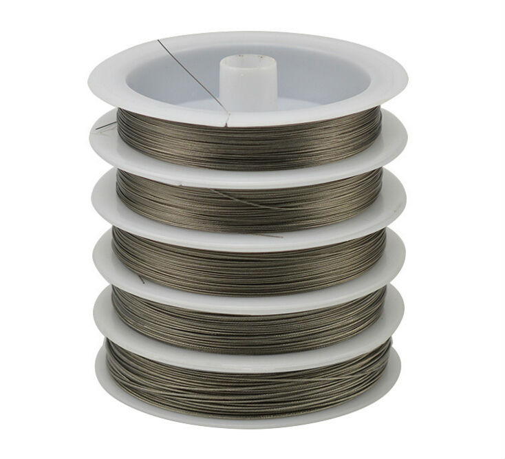 Stainless steel Colol Wire 0.3-0.6mm Never fade Fine wire li
