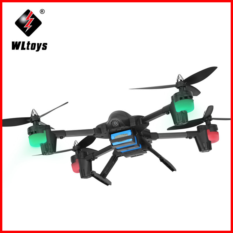 WLtoys Q323 - C RC Helicopter Drones With 2.0MP HD Camera 2.4G 4CH 6 Axis Gyro Altitude Hold RC Quadcopter RTF with LED light wltoys v676 2 4ghz 4 ch outdoor r c ufo helicopter aircraft w 6 axis gyro lamp white green