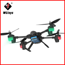 WLtoys Q323 - C RC Helicopter Drones With 2.0MP HD Camera  2.4G 4CH 6 Axis Gyro Altitude Hold RC Quadcopter RTF with LED light jjrc rc drone dron rtf wifi fpv firefly drones with camera 2 4ghz 4ch 6 axis gyro air press altitude hold app control quadcopter