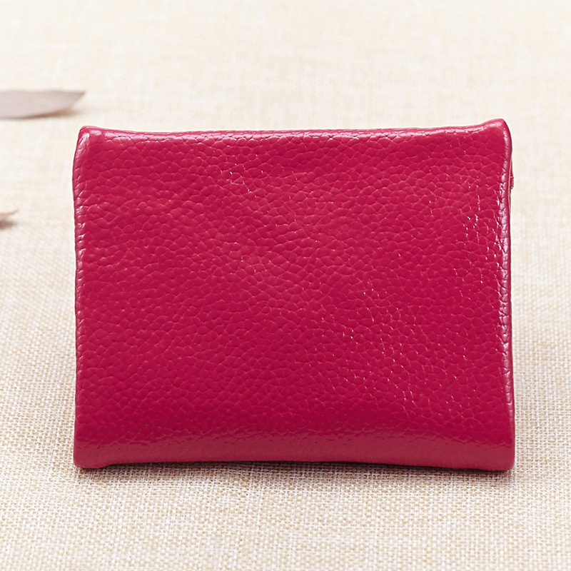 luxury Genuine Leather Women Wallet Purses Coin Purse Female Small Portomonee Bifold Rfid Wallet Lady Purse For Girls Money Bag