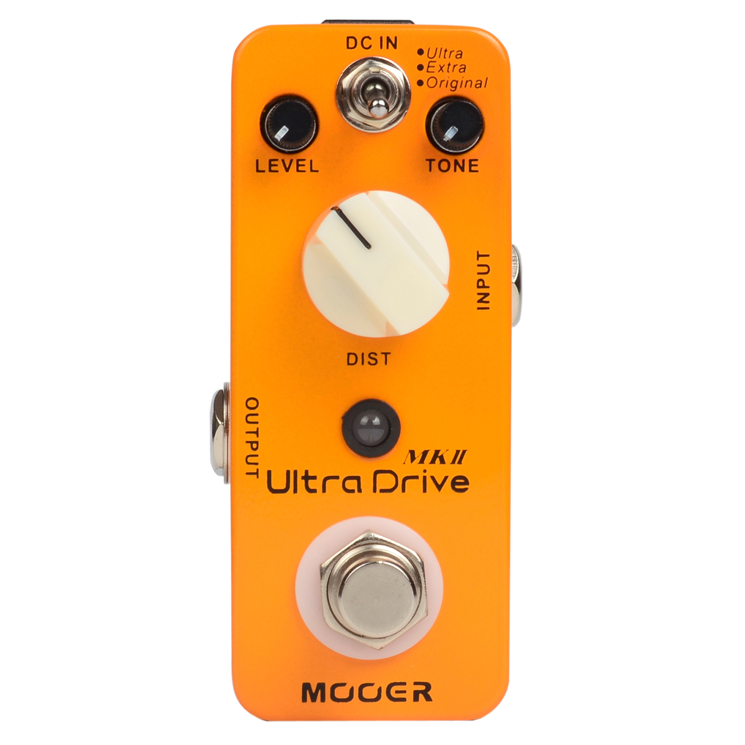 Mooer Ultra Drive MKII Distortion Effects Electric Guitar Effect Pedal True Bypass Original Extra Ultra Modes MDS6 mooer hustle drive distortion guitar effect pedal micro pedal true bypass effects with free connector and footswitch topper