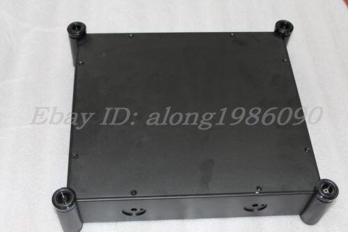 sep_store NEW 3607T Full Aluminum Enclosure / mini AMP case/power amplifier box/ chassis black цена