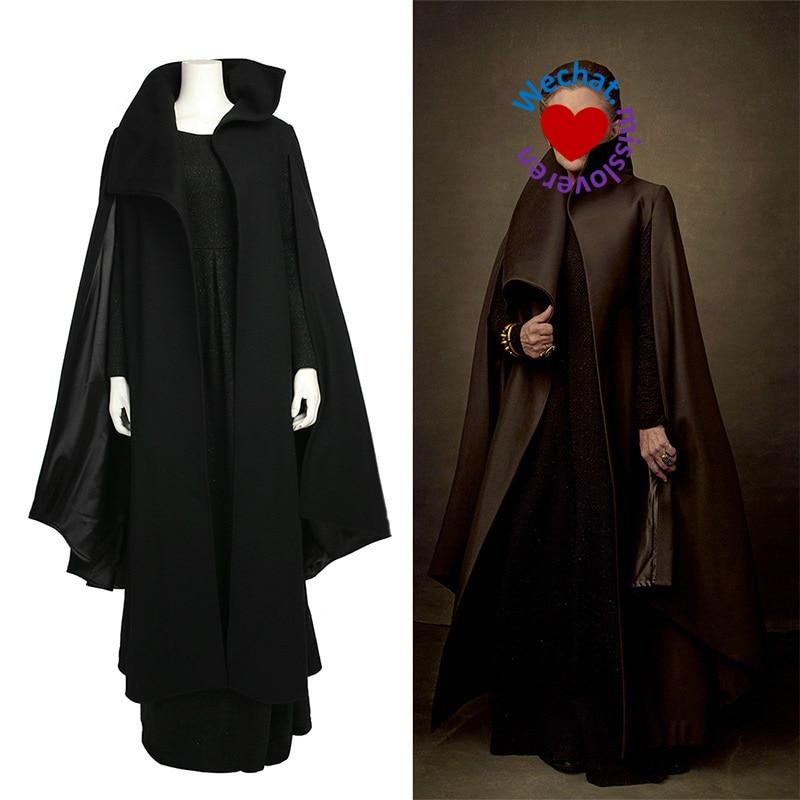 Vestido de mujer Akatsuki Capa Cosplay Vestidos para Leia Princess - Disfraces