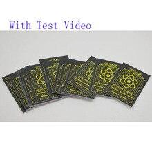 50 stücke EMR Skalare Energie Telefon Aufkleber Anti Strahlung Chip Schild Halten Gesundheit Laptop Anti EMP EMF Schutz für Schwangere frau