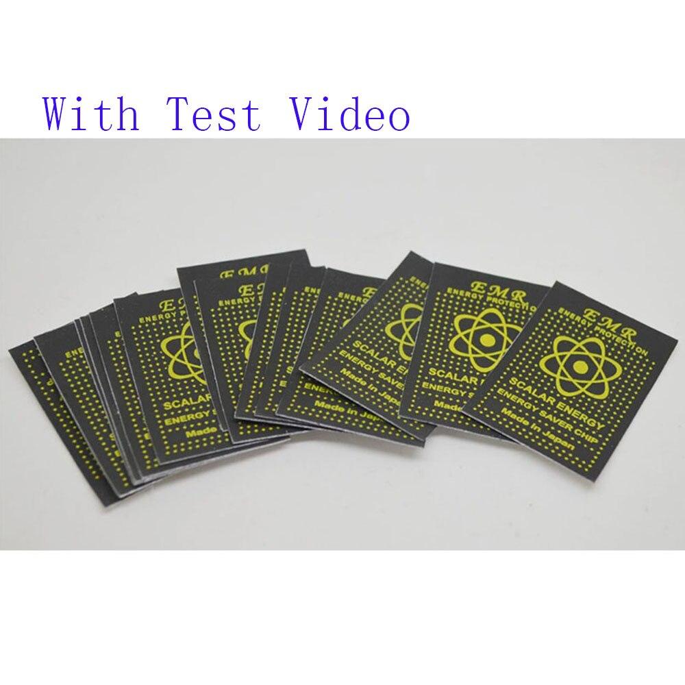 50pcs EMR Scalar Energy Phone Sticker Anti Radiation Chip Shield Keep Health Laptop Anti EMP EMF Protection for Pregnant Woman