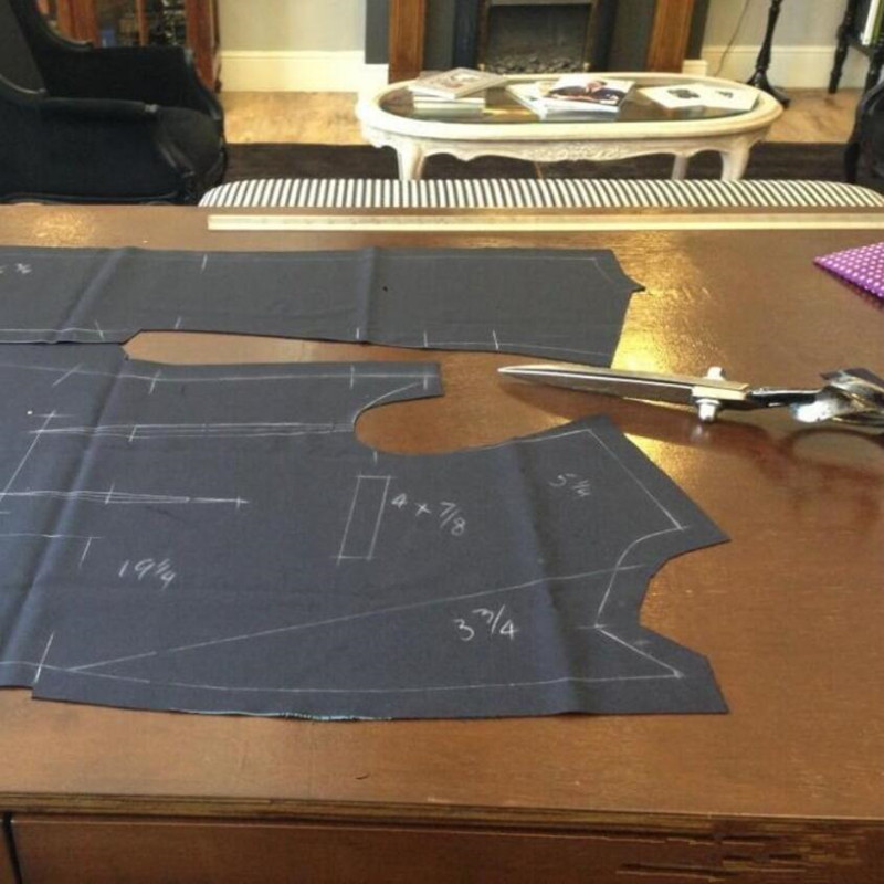 (Chaqueta + pantalón + corbata) trajes de ocio para hombre, esmoquin azul marino, trajes de negocios, trajes de boda de dos piezas - 5
