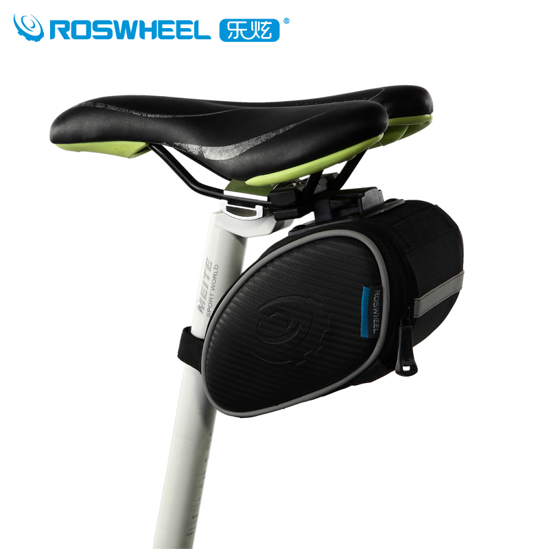 ROSWHEEL Bicycle Bags Panniers Bike Saddle Bag Large Capacity Sport Cycling 13814