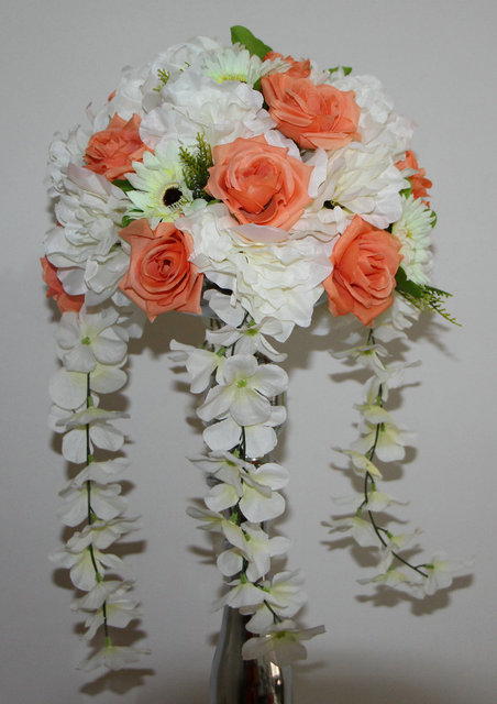 Rose And Dahlia 10pcs/lot Wedding Road Lead Artificial Flowers Wedding Table  Flowers,table