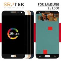 AMOLED/TFT For Samsung Galaxy E5 LCD Touch Digitizer Sensor Glass Assembly E500 Display E5000 LCD E500F Display E500H E500M