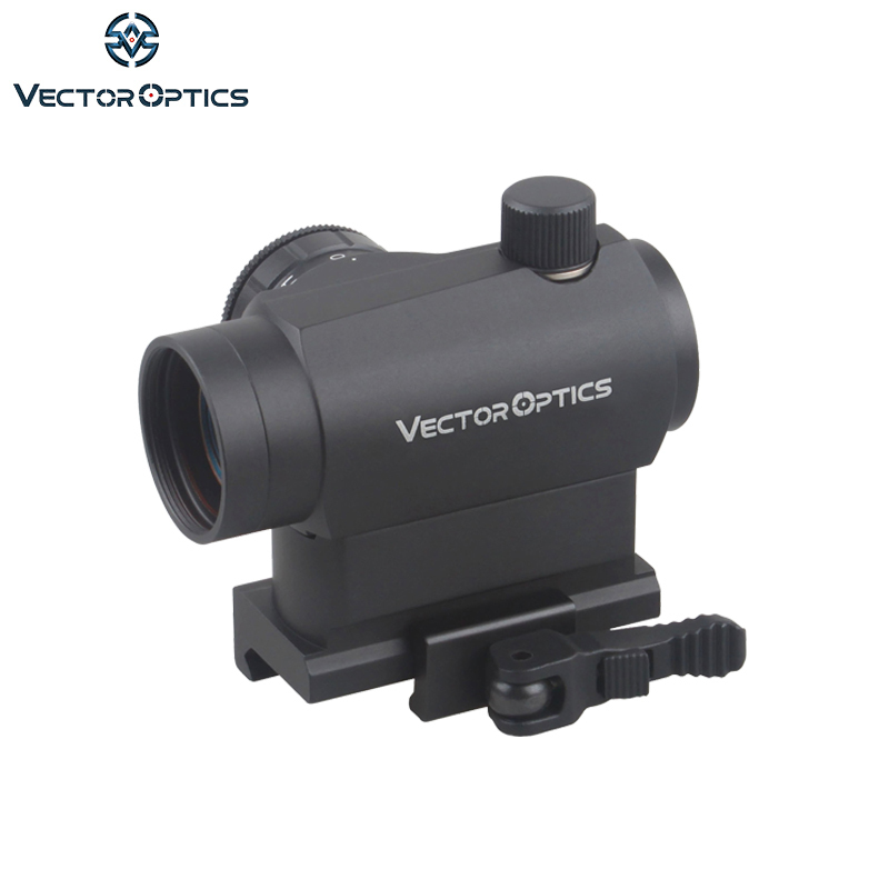Vector Optics Maverick 1x22 Tactical Compact Red Dot Sight Scope with Quick Release QD Mount For Real Rifles Handguns Airsoft hunting qd 3x magnifier scope sight quick release with 20mm flip to side mounts fits for red dot airsoft with covers ht6 0001