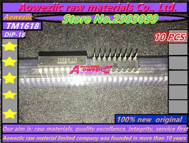 Aoweziic 100% new  original TM1618  TM1620  TM1628  TM1629B  TM1637  TM1638  TM1639  TM1640  TM1668 LED digital tube driver