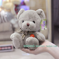박제 동물 35 센치메터 봉제 녹색 곰 장난감 인형 큰 선물 무료 배송 w134