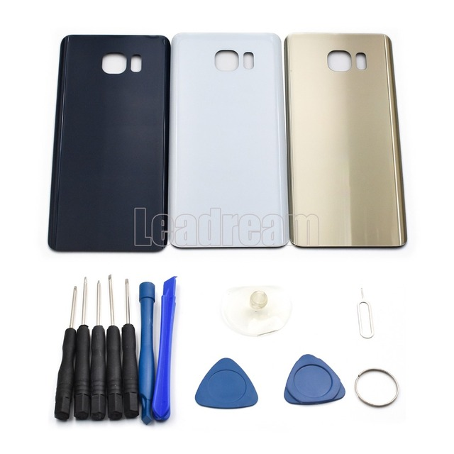 Battery Cover Rear Door Housing Back Glass Replacement For Samsung