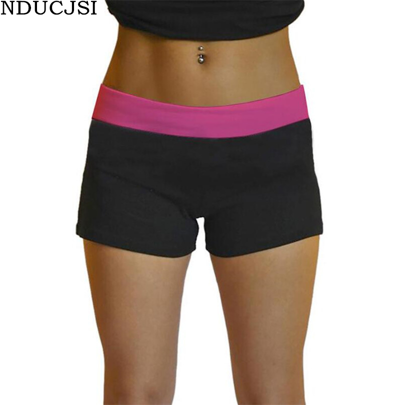 NDUCJSI 3D PrintShorts Summer Short Femme Women Elastic Low Waist Fitness Shorts Slim Womens Outwear Ladies Workout Shorts