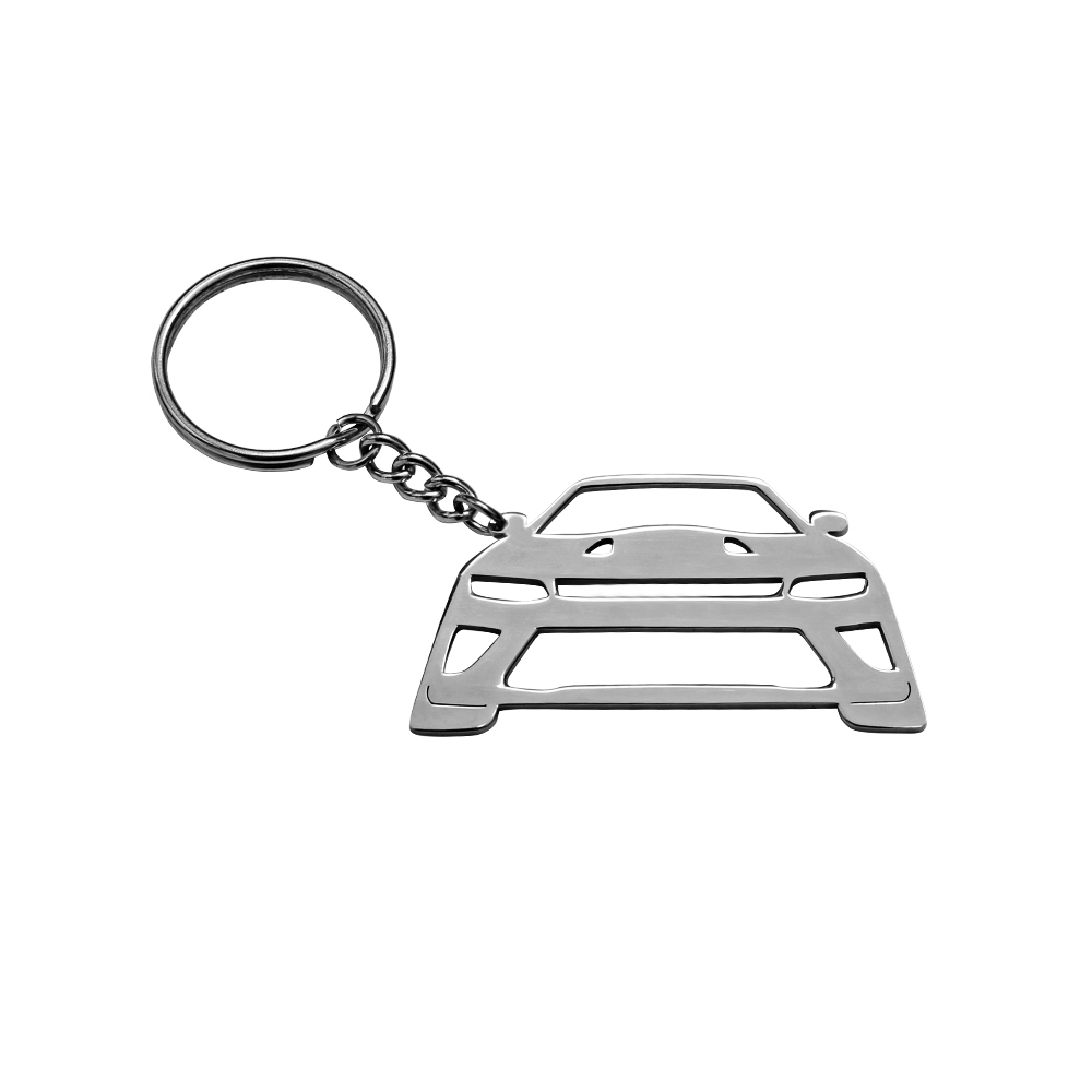 2018 New Car Styling Personality Decor Accessories Key Chain 304 Stainless Steel Key Ring For Chevrolet Camaro SS
