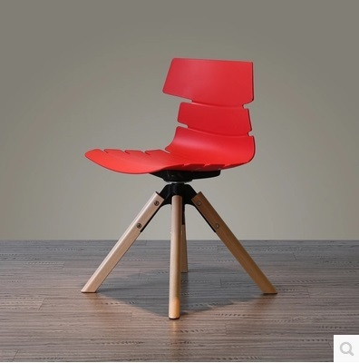New Design Dining Room Chair Good Quality Red White Color