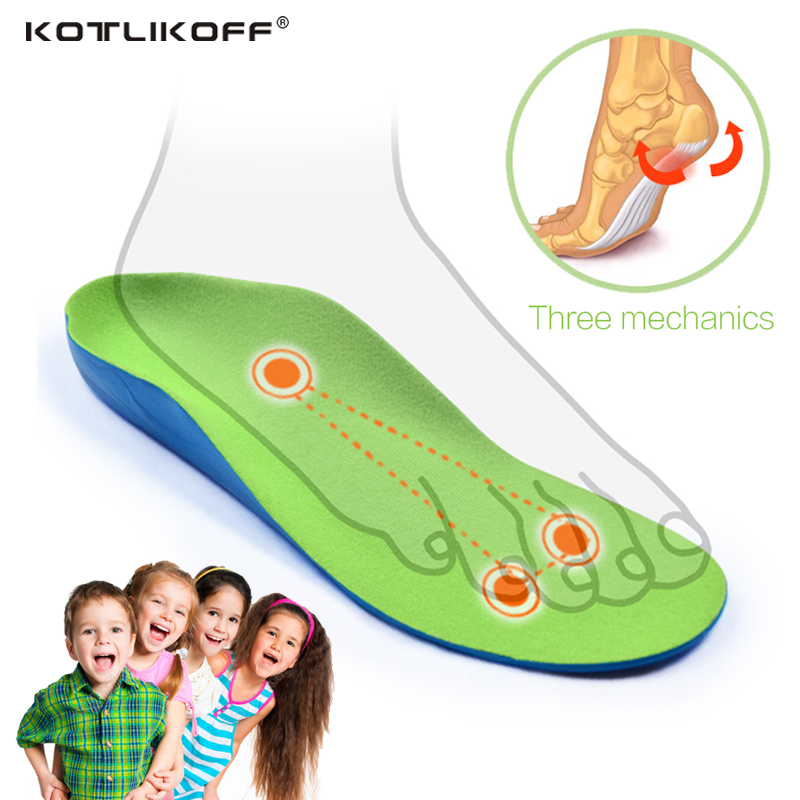 Kids Children Orthopedic Insoles for Children Shoes Flat Foot Arch Support Orthotic Pads Correction Health Feet Care Insole soumit premium kid children orthopedic insoles arch support orthotic pad correction flatfoot o x leg eight leg feet care insole