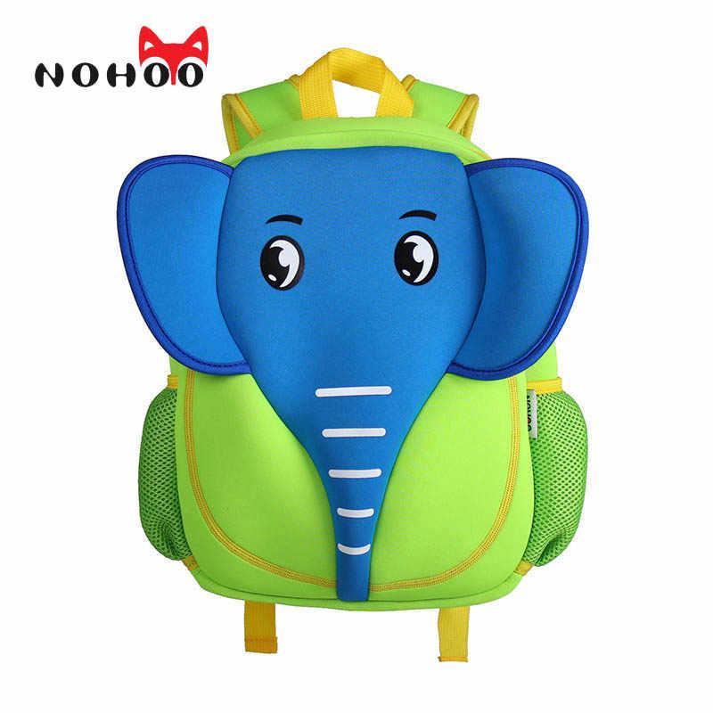 8e927682296e Detail Feedback Questions about NOHOO 3D School Bag Waterproof Animals  Cartoon Elephant Backpack Neoprene Kids Baby Bags Children School Bags For Girls  Boys ...