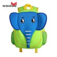 NOHOO 3D School Bag Waterproof Animals Cartoon Elephant Backpack Neoprene Kids Baby Bags Children School Bags For Girls Boys