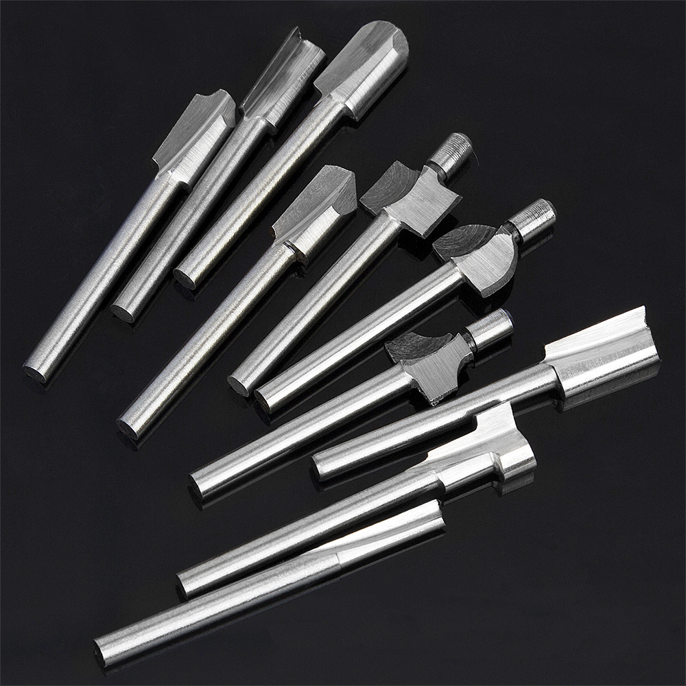 Rond Tige 2.4 mm Diamètre 100 mm longueur HSS Lathe Bar stock de bricolage outil 10 pcs