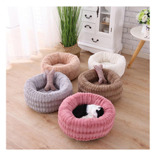 Winter Warm Cat Sleeping Bag Soft Plush Pet Dog Bed Sofa For Small Puppy Kennel Kitten Cave house New