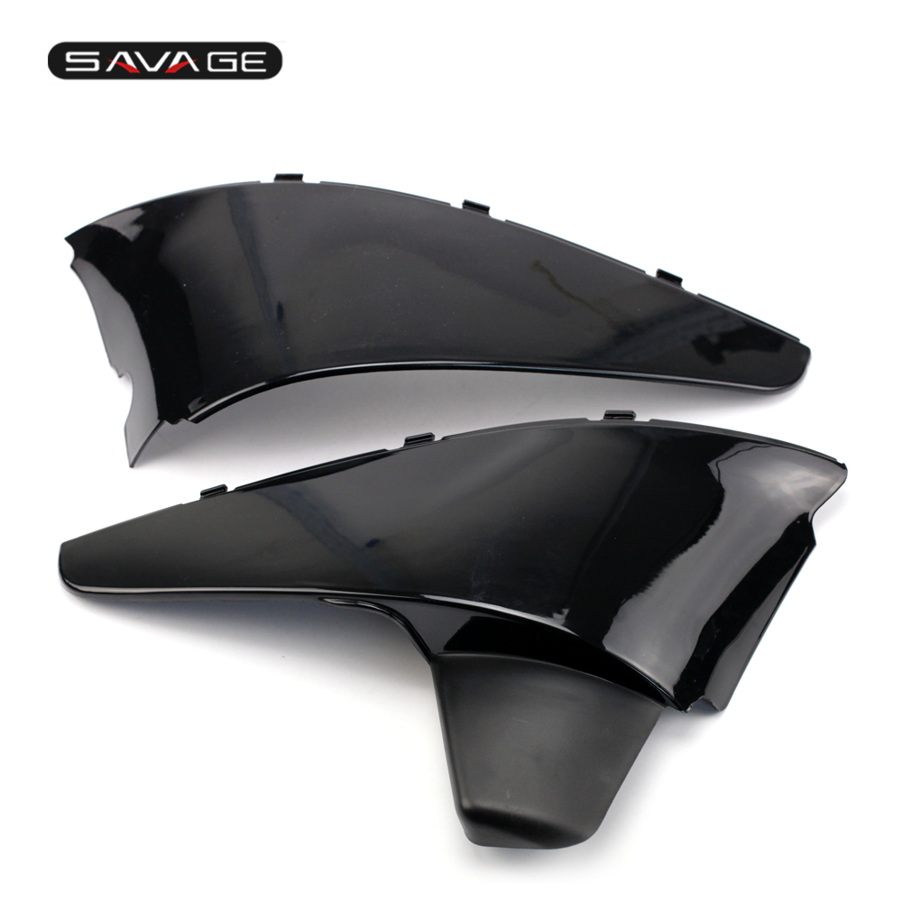 FOR HONDA VT 600 Shadow VLX/STEED 400 Plastic Cover Cap Set Left/right Side Motorcycle Accessories Black for 88 98 honda shadow vt600 vlx 600 steed 400 motorcycle abs plastic frame neck cover cowl wire covers side frame guard black