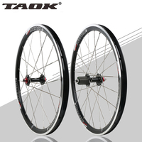 TAOK 20 inch 451 folding bicycle wheel Perrin BMX 451 cassette V brake hub bearing