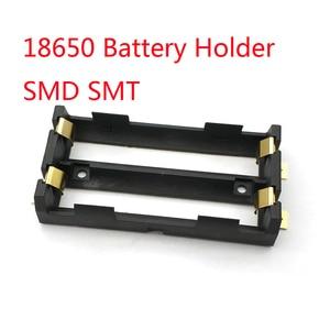 Image 1 - 2X18650 סוללה מחזיק SMD SMT גבוהה באיכות סוללה תיבה עם ברונזה סיכות TBH 18650 2C SMT