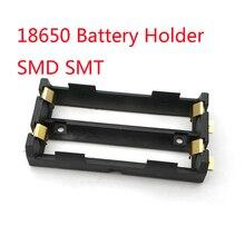 2X18650 uchwyt baterii SMD SMT wysokiej jakości bateria z brązowymi kołkami TBH 18650 2C SMT