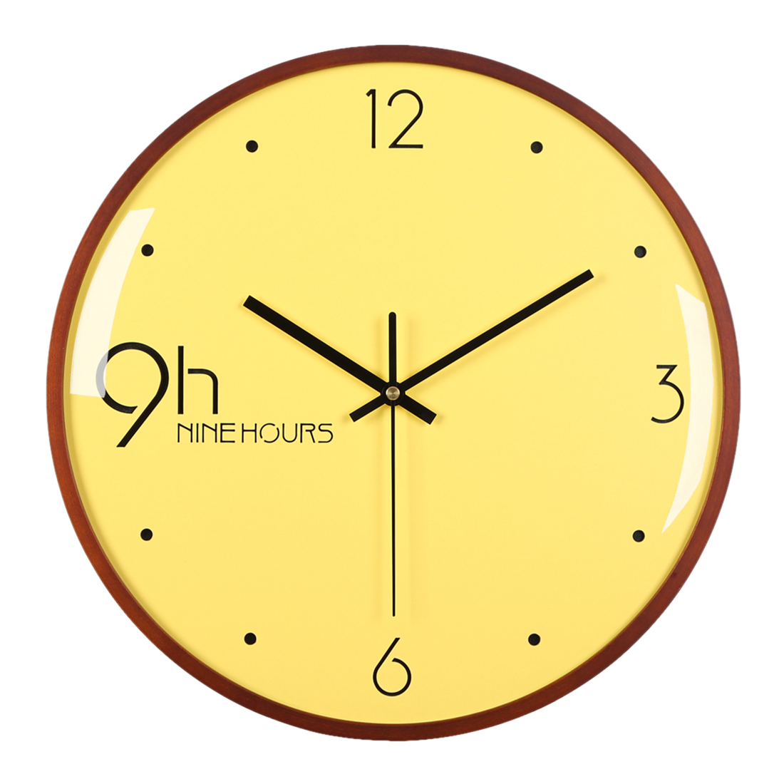 Buy wooden frame wall clock and get free shipping on AliExpress.com