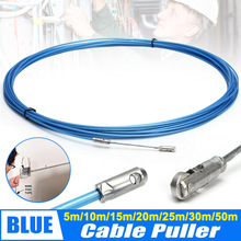 2019 Hot Electrician Tape Conduit Ducting Cable Puller Tools Wheel Pushing for Wiring Installation LO88 330mm electrician cable installation access kit rods wire puller free freight to australia usa uk