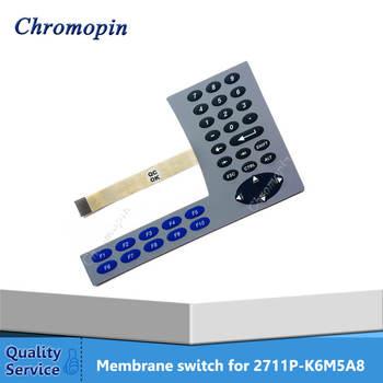 Membrane switch keypad for AB 2711P-K6M5A8 2711P-K6M5D8 2711P-K6M20D8 PanelView Plus 600 Membrane keyboard