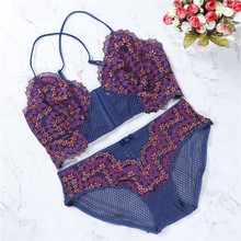 2018 front button summer women's bras and panties sexy women lace cross strap wrapped chest bra strap vest push up seamless top(China)