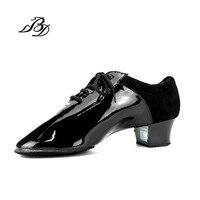 댄스 신발 수입 페인트 사용 볼룸 라틴어 댄스 신발 높은 품질의 완벽한 조합 소