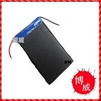 Batería instalada 605085 caja de la batería portátil de energía móvil ultrafino de polímero de alta capacidad de Una batería Li-ion de la Célula