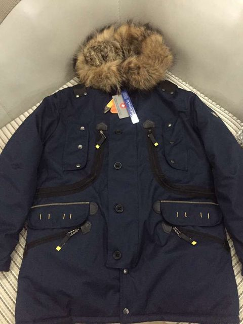 1996066b30b84 Wellensteyn Seacliff mens cotton Jacket Winter cotton warm real fur ...