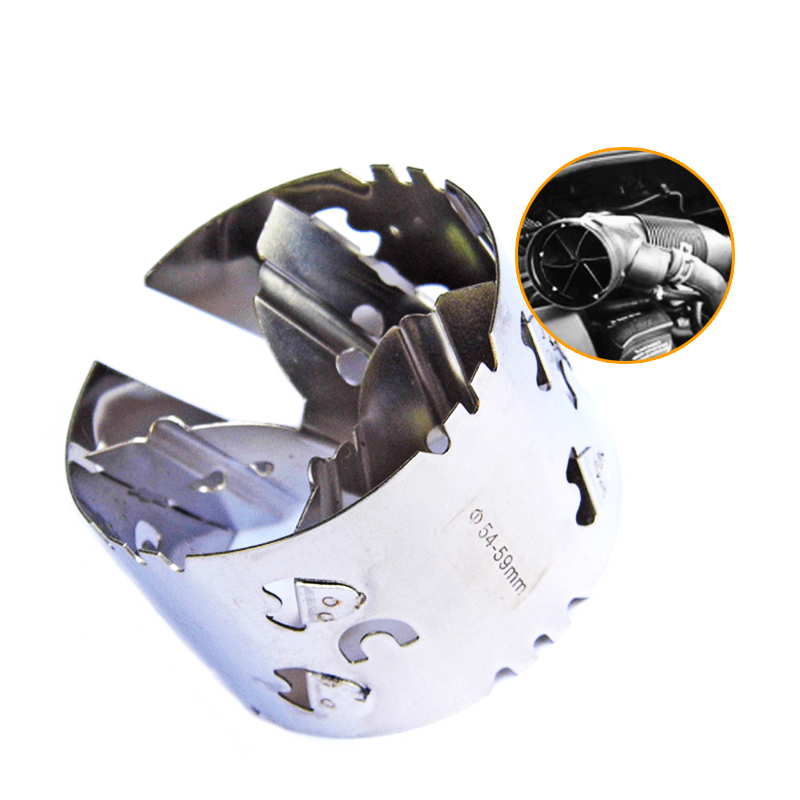 54-59mm Mechanical Turbocharger Fuel Saver Intake Modified Accelerator Car-Styling Fit For 1.5L / 1.6L Displacement