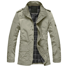 M-5XL Men Big Size Casual Long Jacket Spring Autumn Male Business Windbreak Thin Outwear P