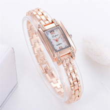 women watch 2017 Luxury  Fashion Ladies Women Unisex Stainless Steel Rhinestone Quartz Wrist Watch  Relogio Feminino #0726