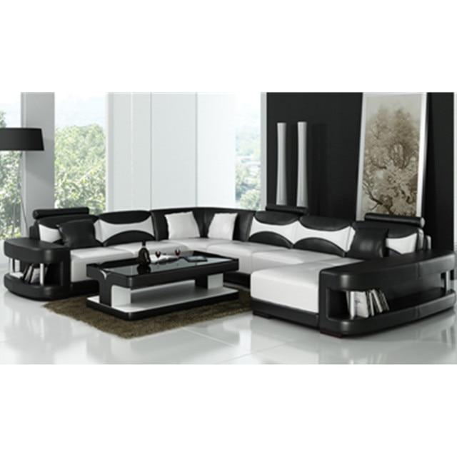 Desain Modern Hitam Dan Putih Ruang Tamu Sofa Di Sofa Ruang Tamu