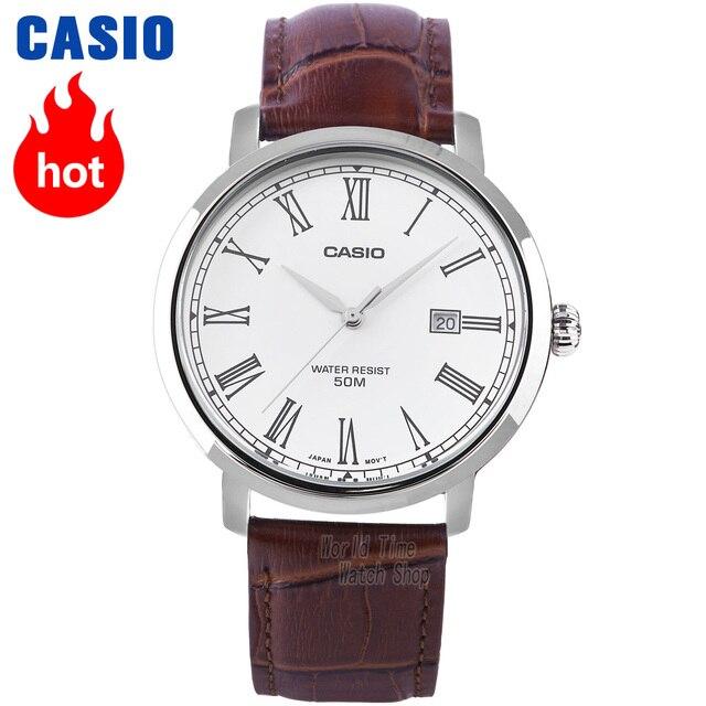 e79e2b81bb9 Casio watch Analogue Men s quartz watch design simple waterproof watch MTP -E149
