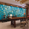 Custom Print DIY Fabric Textile Wallcoverings For Walls Velvet Cotton And Linen For Living Room Wallpaper