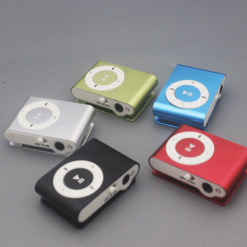 Mini Mp3 Player  Music Clip Player Children's  Digital Sports Audio Players