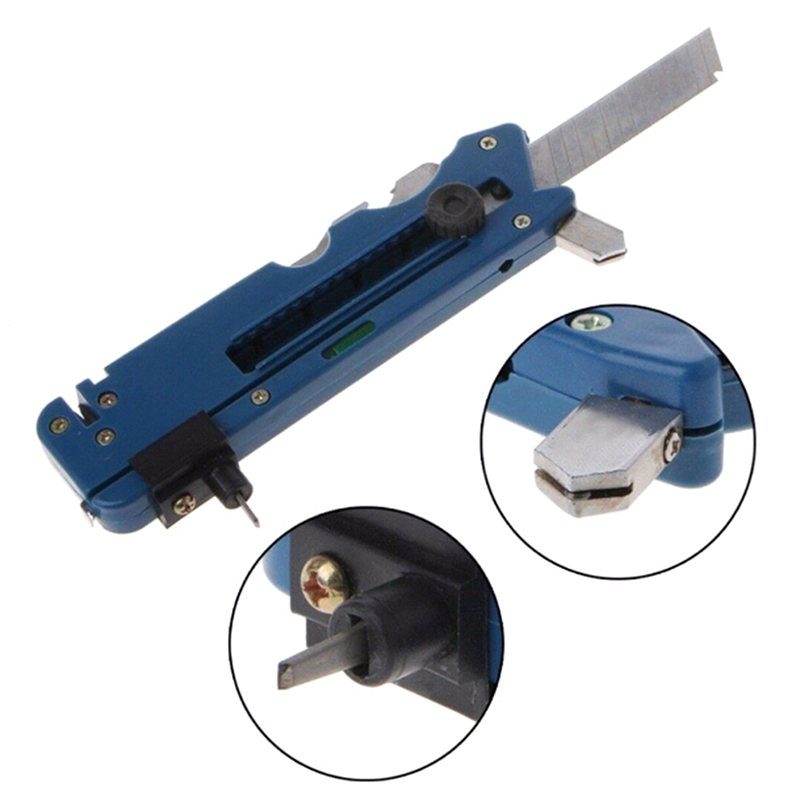 Professional Glass Cutter Multifunction Glass Tile Cutter Metal Cutting Kit Tool With Measure Ruler Drop Shipping