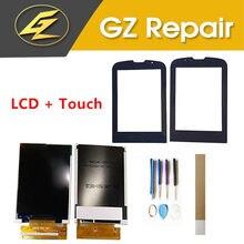 Para a Philips Xenium E560 E-560 CTE560 Separado LCD Display Com Sensor De Lente De Vidro Do Painel Frontal Da Tela de Toque Com Ferramentas Fita